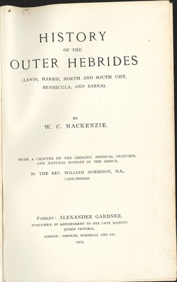 History of the Outer Hebrides
