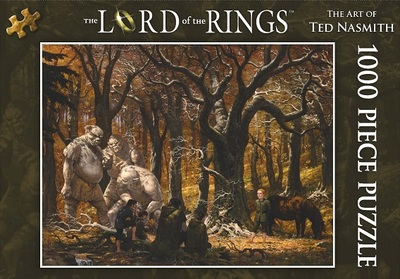 Lord of the Rings Jigsaw Puzzle: Song in the Trollshaws 1000 piece