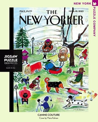 New Yorker Puzzle - Canine Couture - 1000 pcs