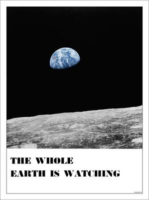 The Whole Earth is Watching Poster Print