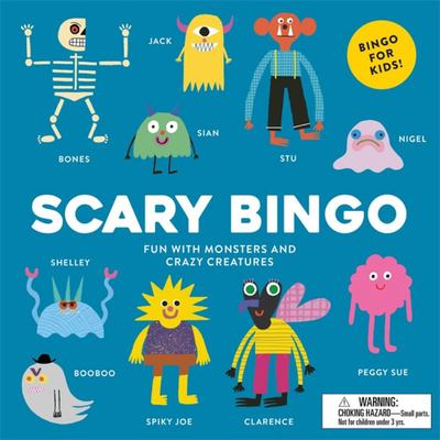Scary Bingo: Fun with Monsters and Crazy Creatures