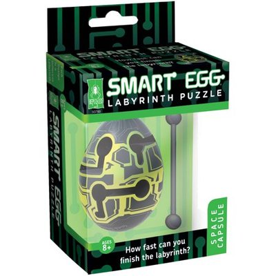 Space Capsule Smart Egg Labyrinth Puzzle
