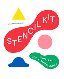Stencil Kit - Blue Smile, Red Apple, Yellow Snake...