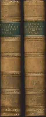 Lives of Indian Officers Vol. I&II (1867)