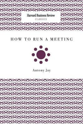 How to Run a Meeting