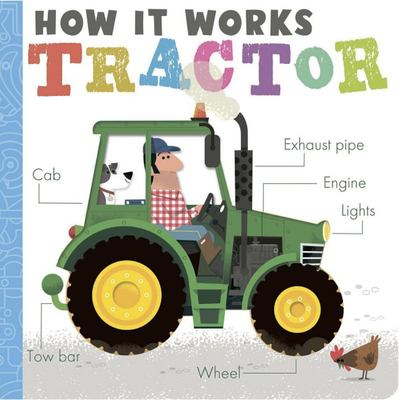 Tractor (How It Works) - Board Book