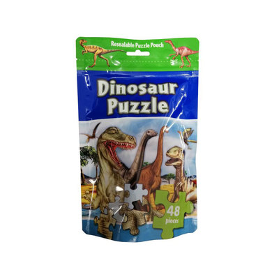 Large 3152 dipz puzzle bag dinosaur