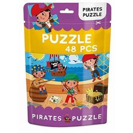 Pirates Puzzle Pouch 48 Piece