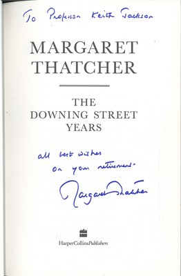 Margaret Thatcher: The Downing Street Years (Signed Copy)