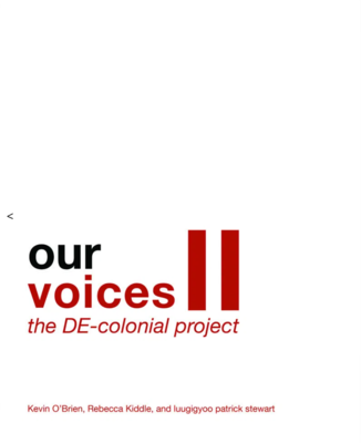 Our Voices II - The de-Colonial Project