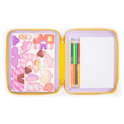 Puzzle and Draw Magnetic Kit - Candy Houses