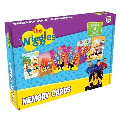 Wiggles Memory Cards
