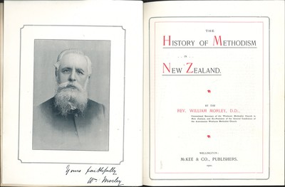 The History of Methodism in New Zealand