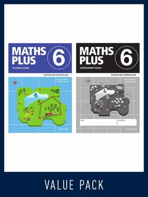 Maths Plus Australian Curriculum Book 6 Student and Assessment Value Pack 2020	- Damaged