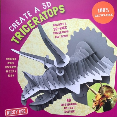 Create a 3D Triceratops