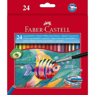 Water Soiluble Pencils 24 pac Faber Castell