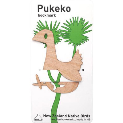 Flexi Ply Bookmark Pukeko