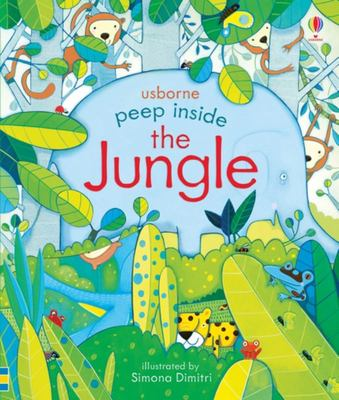 Peep Inside the Jungle (Peep Inside Lift-the-Flap Board Book)