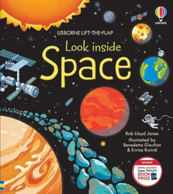 Look Inside Space (Lift-the-Flap Board Book)