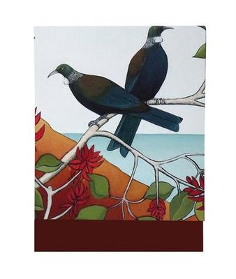 Note Pad - Tui in the Flame Tree 1