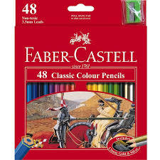 Coloured Pencils 48pack  Faber Castell