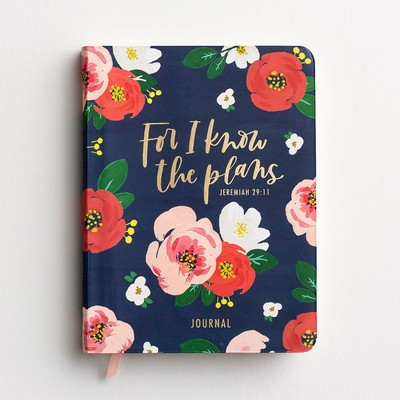 Journal For I know the Plans Floral Flex