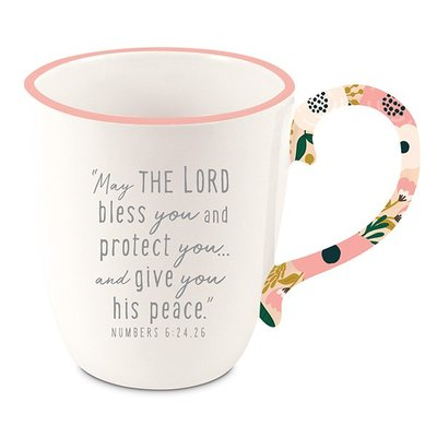 Ceramic Mug - Touch of Floral - Amazing Blessings