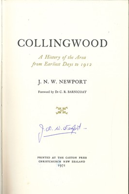 Collingwood - A History of the Area from Earliest Days to 1912