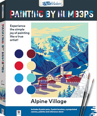 Painting by Numbers: Alpine Village
