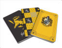 Harry Potter: Hufflepuff Pocket Notebook Collection (Set Of 3)