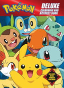 Pokemon Deluxe Colouring and Activity Book