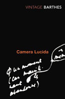 Camera Lucida - Reflections on Photography