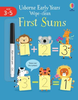 First Sums (Early Years Wipe-Clean)