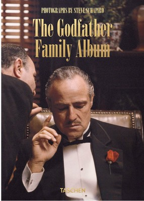 Large 0135003 taschen steve schapiro the godfather family album 40th anniversary edition 9783836580649