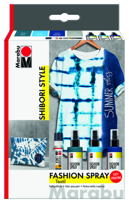 Marabu Fashion Spray Shibori Set