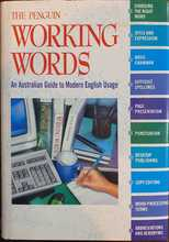 Homepage maleny bookshop the penguin working words   an australian guide to modern english usage