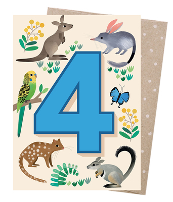 Blank Greeting Card - Age 4 Friendly Forest