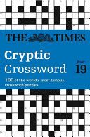 Times Cryptic Crossword Book 19