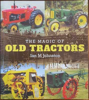 Large maleny bookshop magic of old tractors