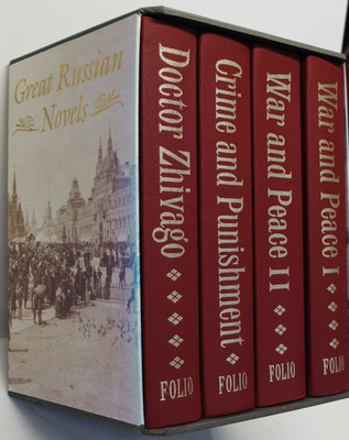 Great Russian Novels - Doctor Zhivago; Crime and Punihment; War and Peace