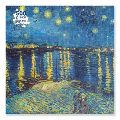 Adult Jigsaw Puzzle Van Gogh: Starry Night over the Rhone (500 Pieces) - 500-Piece Jigsaw Puzzles