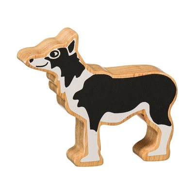 Fairtrade Wooden Sheep Dog