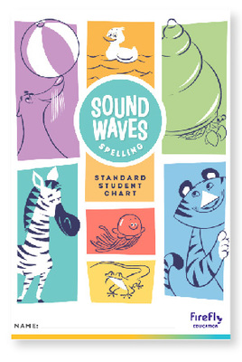 Sound Waves Spelling Standard Student Chart