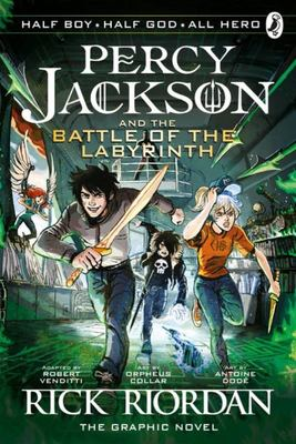 Percy Jackson & the Battle Of The Labyrinth (Percy Jackson Graphic Novel #4)
