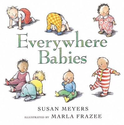 Everywhere Babies (Board Book)