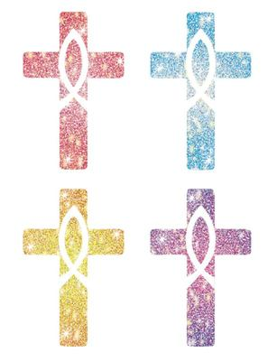 Crosses: 120 Stickers Pack