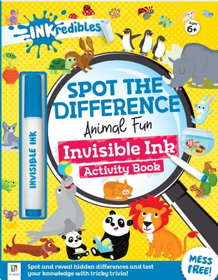 Animal Fun (INKredibles Spot the Difference Invisible Ink Activity Book)