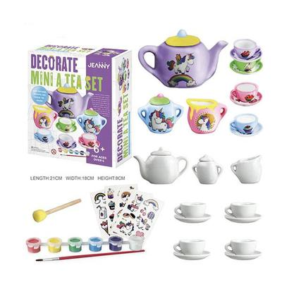 Decorate a Mini Tea Set