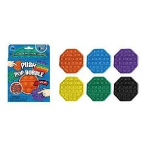 Push Pop It Game Octagon Shape Assorted Colours - BK101OPL - TNW