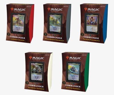 Magic: the Gathering Strixhaven Commander Deck 2021